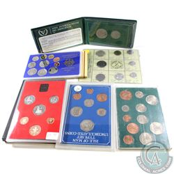 Lot of Miscellaneous World Coins/Sets. Lot includes the following: 1969 Republic of Italy 8-coin Set