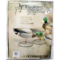 6 NEW FABRAND DUCK DECOYS