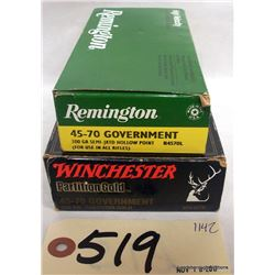 45-70 GOVERNMENT AMMUNITION
