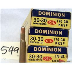 30-30 WIN AMMUNITION