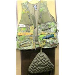 TURKEY HUNTING VEST, CALLS