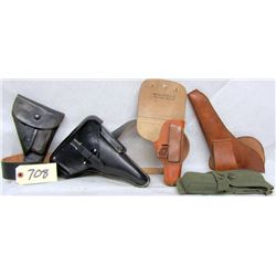 BOX LOT 6 HOLSTERS