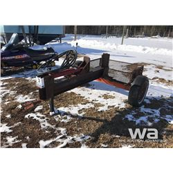 TRAIL TYPE HYD. WOOD SPLITTER