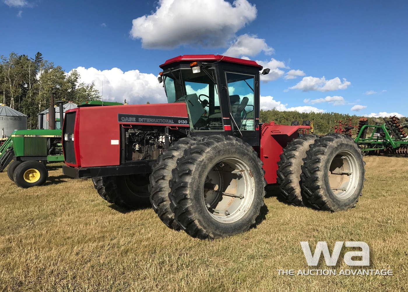 Image 1 : 1990 CASE 9130 4WD TRACTOR ...