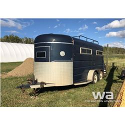 1986 LEELINE 16 FT. STOCK TRAILER