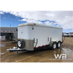 1999 SOUTHLAND T/A ENCLOSED TRAILER