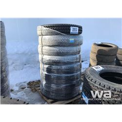 (8) HEADWAY 11R24.5 TRAILER TIRES