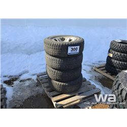 (4) TRAIL CUTTER LT265/70R17 TIRES ON DODGE RIMS