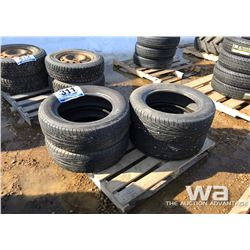 (4) MICHELIN P225/60R16 TIRES