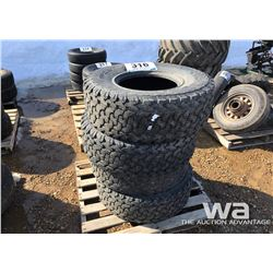 (4) CONTINENTAL 33X12.5R15LT TIRES