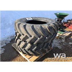 (2) MICHELIN 540/65R26 TRACTOR TIRES