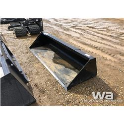 "83"" SKID STEER BUCKET"