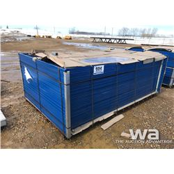 (40) 6 X 10 FT.  TEMPORARY FENCE PANELS