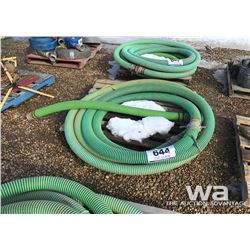 """PALLET OF 3"""" SUCTION HOSE"""