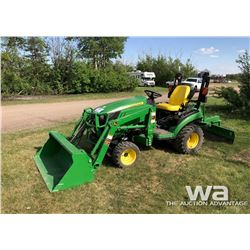 2015 JD 1025R MFD UTILITY TRACTOR