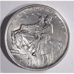 1925 STONE MOUNTAIN HALF DOLLAR COMMEM, CH BU/GEM