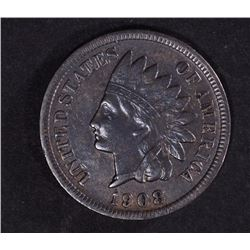 1908-S INDIAN CENT XF  KEY