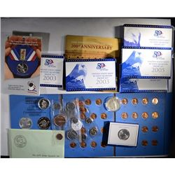 HUGE LOT; NUMISMATIC NEW SET w/INTRO COIN