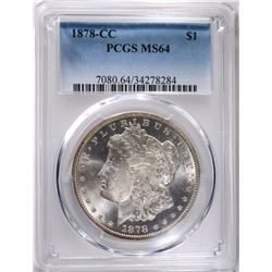 1878-CC MORGAN DOLLAR PCGS MS64
