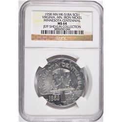 1958 MN HK-518A SO CALLED DOLLAR NGC MS64