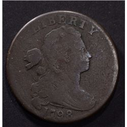 1798 LARGE CENT, G/VG