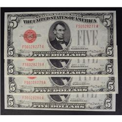 4-1928-C $5.00 RED SEAL NOTES: