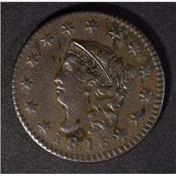 1816 LARGE CENT, VF