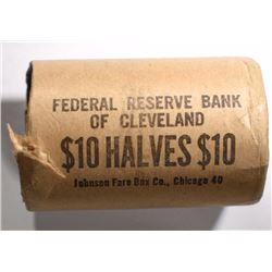 BANK-WRAPPED ROLL OF GEM BU 1964-P