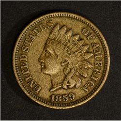 1859 INDIAN HEAD CENT, XF