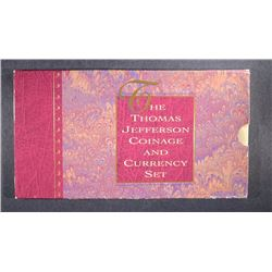 1993 JEFFERSON COINAGE & CURRENCY SET