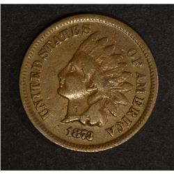 1873 INDIAN HEAD CENT, FINE