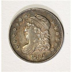 1832 CAPPED BUST HALF DIME, XF