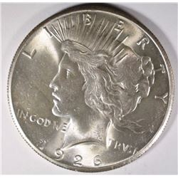 1926 PEACE DOLLAR, GEM BU