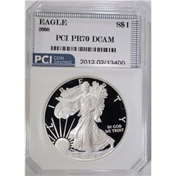2008(W) AMERICAN SILVER EAGLE PCI PERFECT PROOF
