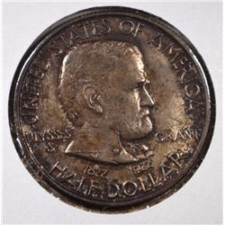 1922 GRANT HALF DOLLAR COMMEM GEM BU