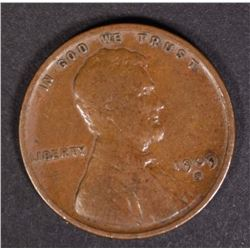 1909-S-VDB LINCOLN CENT VF
