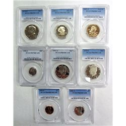 PCGS GRADED COIN LOT: