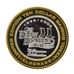 .999 Silver El Dorado Hotel & Casino Reno, Nevada $10 Limited Edition Gaming Tok