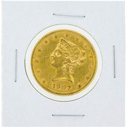 1907-S $10 Liberty Head Eagle Gold Coin