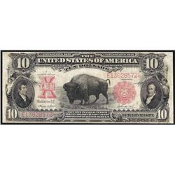 1901 $10 Bison Legal Tender Note
