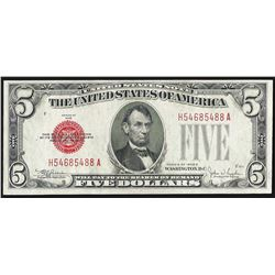 1928E $5 Legal Tender Note