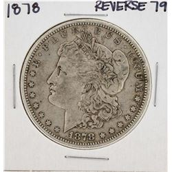 1878 7TF Reverse 79 $1 Morgan Silver Dollar Coin