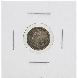 1868-S Seated Liberty Half Dime Coin