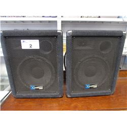 2 YORKVILLE Y110 PERFORMANCE SERIES SPEAKERS 100WPGM