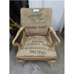 HOMEMADE EL SALVADOR MARINA FARM CHAIR
