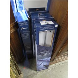 "4 GATCO FINE BATHWARE 24"" DOUBLE TOWEL BARS"