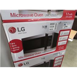 LG SS MICROWAVE OVEN 1.1 CU FT MODEL LMC1050ST (BOXED)