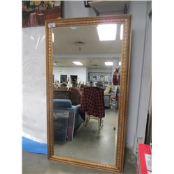 LARGE FRAMED MIRROR 80 X 44.5""
