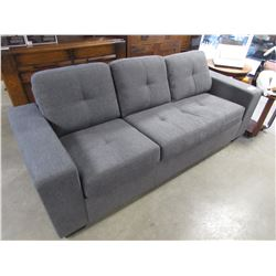 NEW CHARCOAL 3 SEATER SOFA