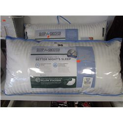 2 SLEEP FOR SUCCESS KING SIZE PILLOWS